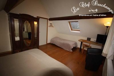 La Clef Deschamps - Nos chambres