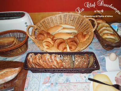 La Clef Deschamps - Petit déjeuner